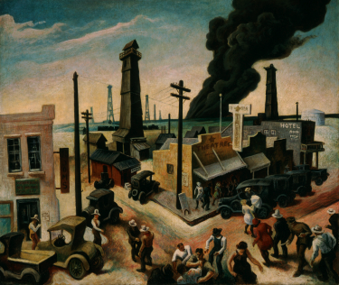 Thomas Hart Benton - Boomtown